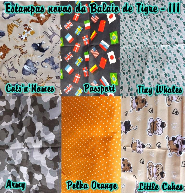 Estampas novas brazil patchwork show balaio de tigre artesanato