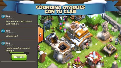 Clash of Clans para iPhone