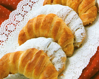Roščići s marcipanom recept sa slikom