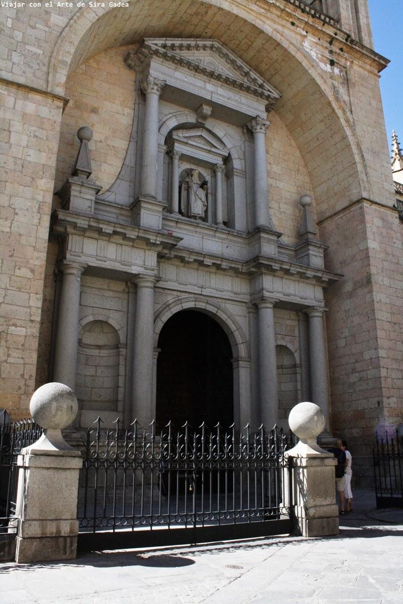 La catedral de segovia - Puerta de segovia ...