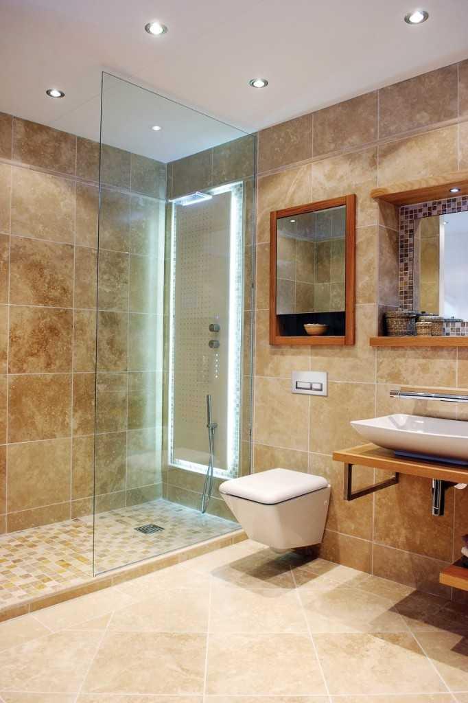 36 banheiros modernos e contempor neos dicas de cores e revestimentos decor alternativa - Stunning home interior and bathroom decoration using steam shower for less ideas ...