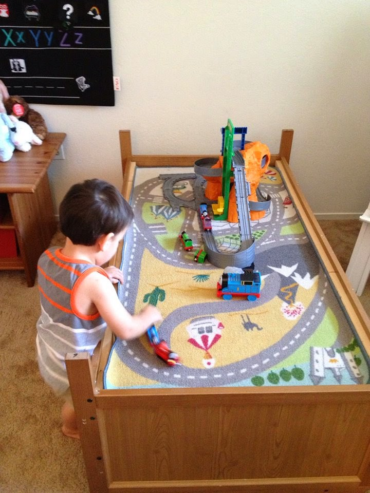Munchkins And Moms Toddler Bed To Train Table In Less