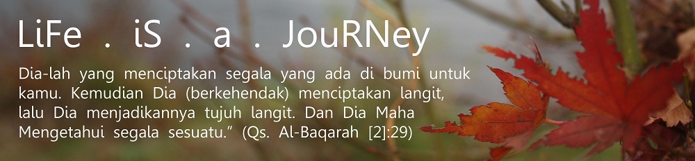 LiFe . iS . a . JouRNey