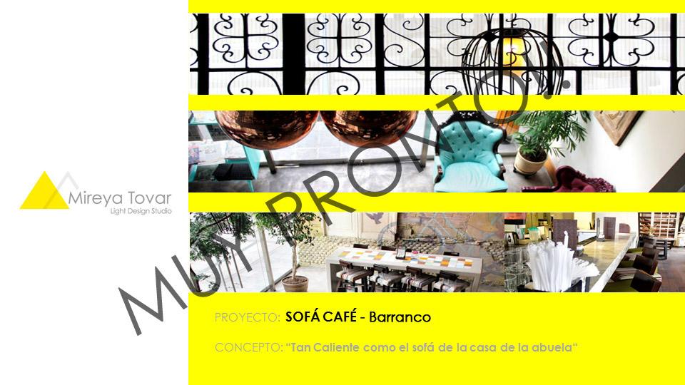 SOFÁ CAFÉ - Barranco. Lima, Perú