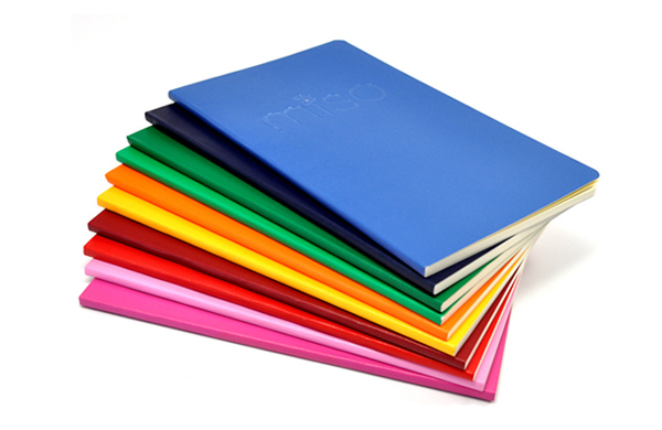 Colorfull notebooks