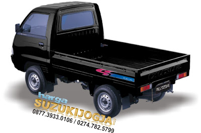 gambar suzuki carry pick up warna hitam biru putih