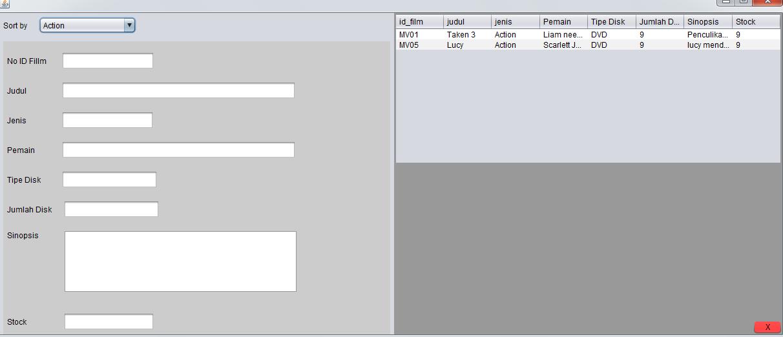 Membuat Aplikasi Rental VCD sederhana dengan JAVA(NETBEANS