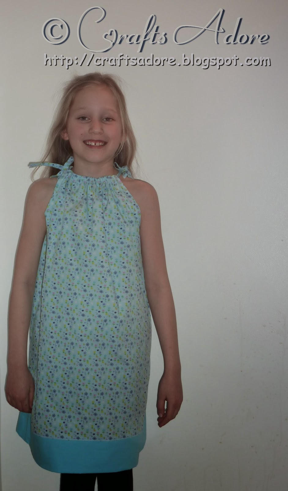 Sewing Little Girl Dresses - Pillowcase Dress Style