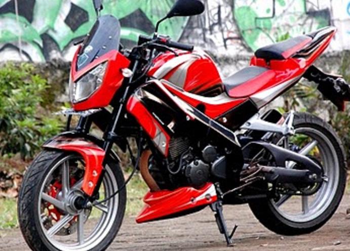Berikut beberapa gambar mengenai Modifikasi Motor Yamaha Scorpio Z dan  title=