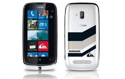 Edição limitada  Lumia 610 Nokia e Quicksilver,telemóveis,smartphone,Quiksilver surf,edição limitada