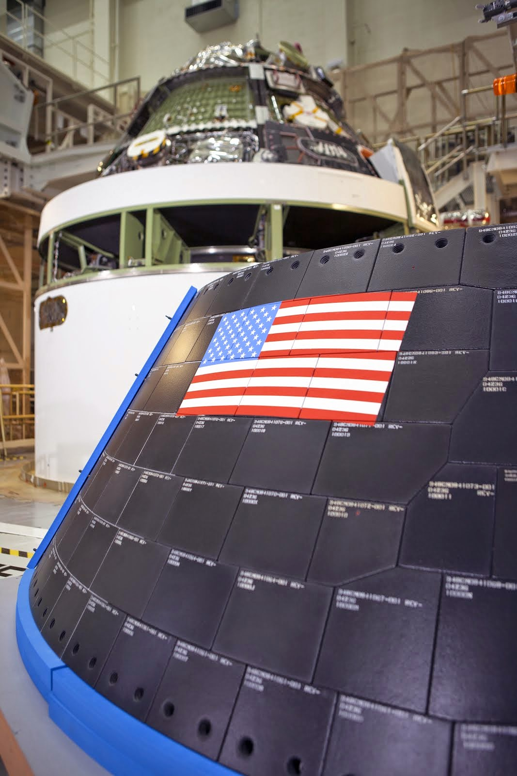 ORION CREW MODULE AT NEIL ARMSTRONG BUILDING