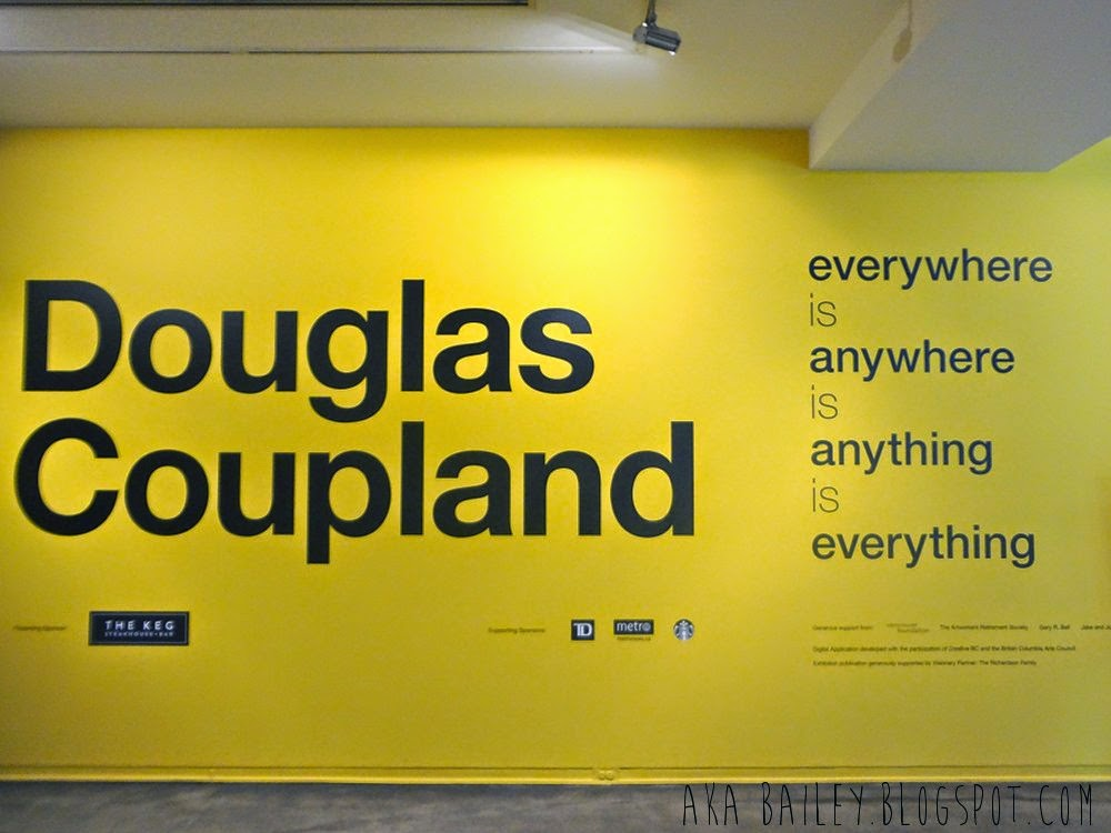 Douglas Coupland at Vancouver Art Gallery