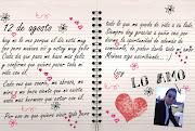 12 de agosto, te amo más. Publicado por Fulano o Lucy a las 16:38 (libro blog te amo)