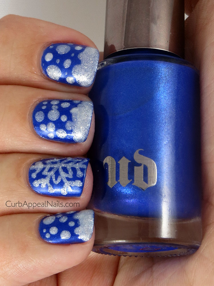 Snow and Snowflakes with Urban Decay Chaos and OPI Solitaire