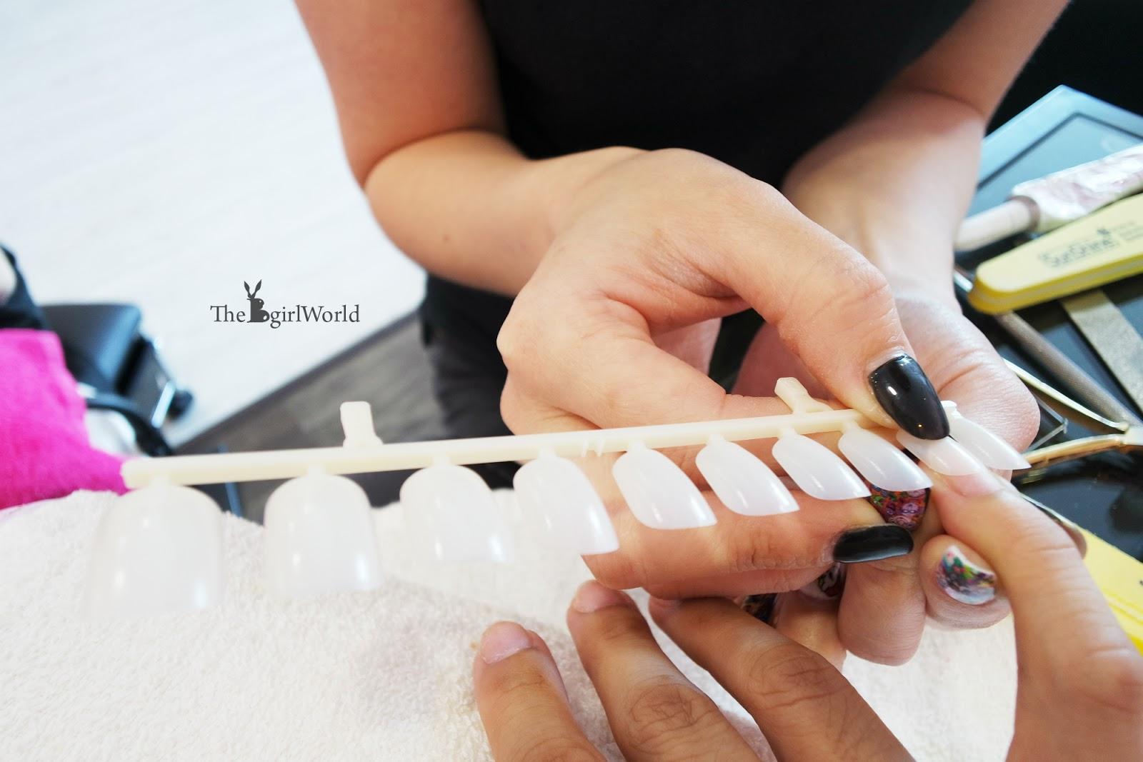 Topic  nail shapes  NAILS Magazine