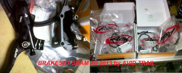 brakeset sram x0 2013 by avid