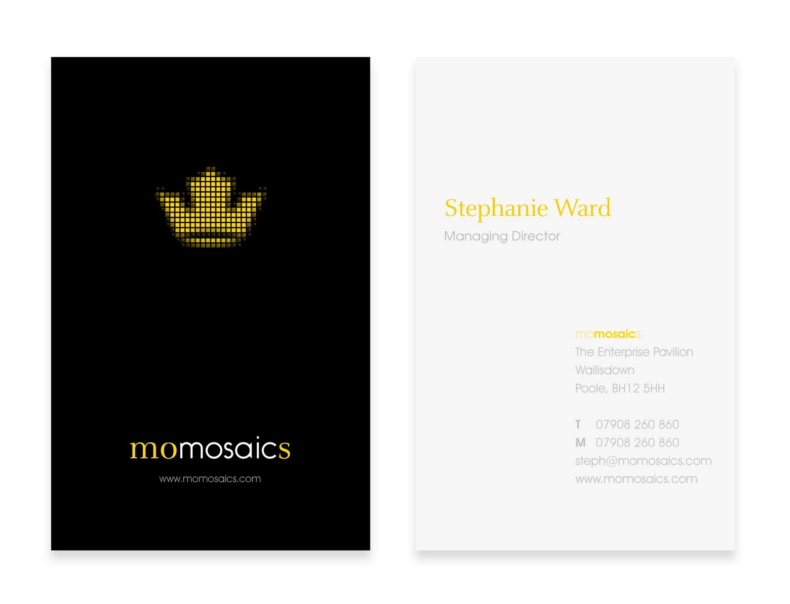Award-winning digital & web design agency: Beautiful Business Card ...