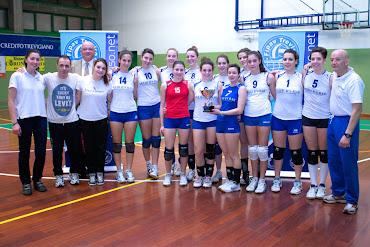 Volley Codognè campione provinciale under 18 femminile