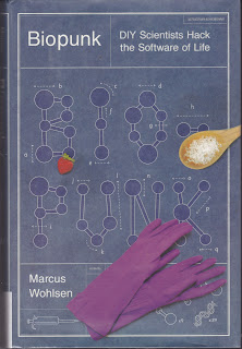 Book cover showing schematics of microscopic particles