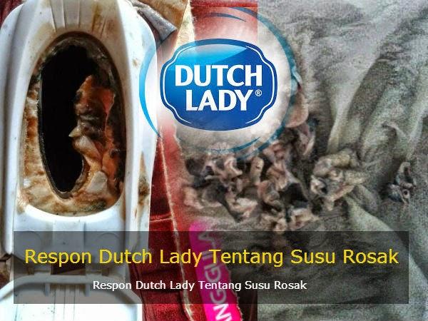 Respon Dutch Lady Tentang Susu Rosak