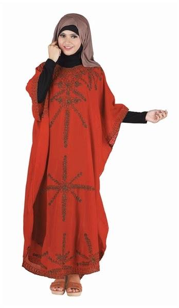 Baju Lebaran Merah Hicon