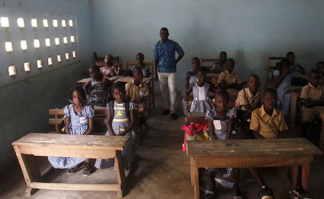 Abidjan'da bir sınıf