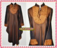 BLOUSE WAKA DIVSYA BROWN