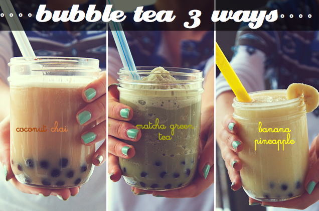 The Perfect Pear: Bubble Tea 3 Ways♡