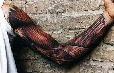 3D Tattoo on Forearms
