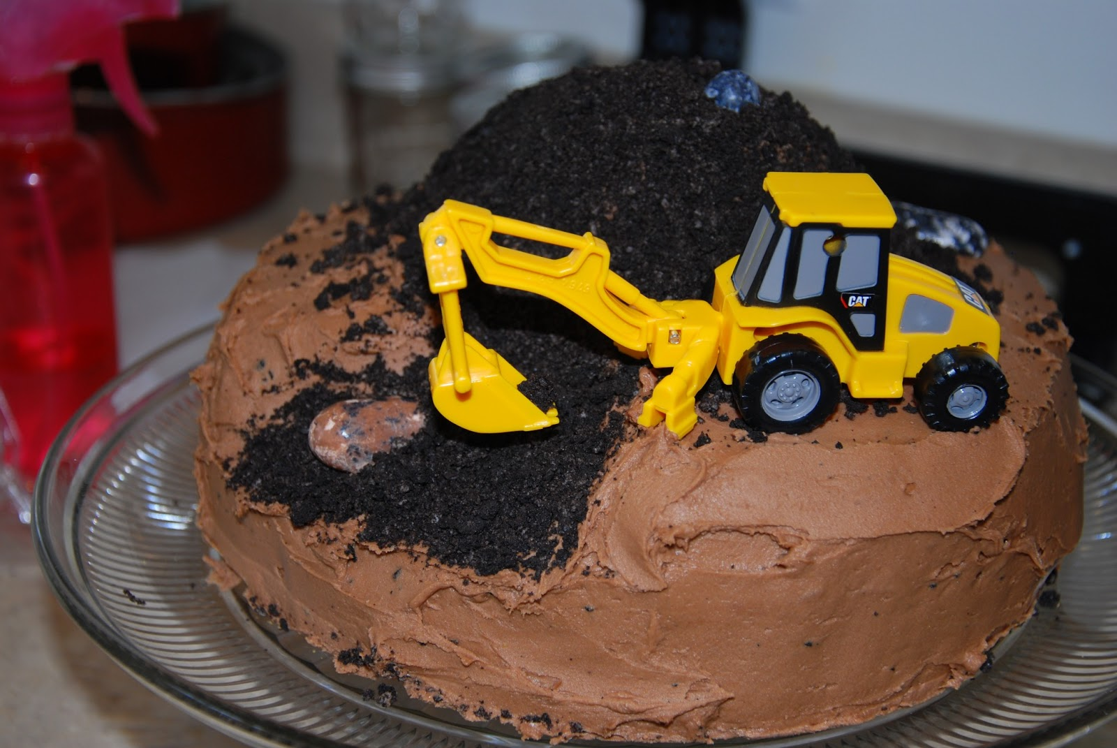 Construction Cake With