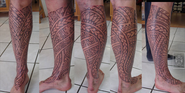 Tatouage polynesien polynesian tattoo lining of the day for Tattoo lining tips