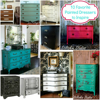 10 Favorite Painted Dressers: Looks to Inspire