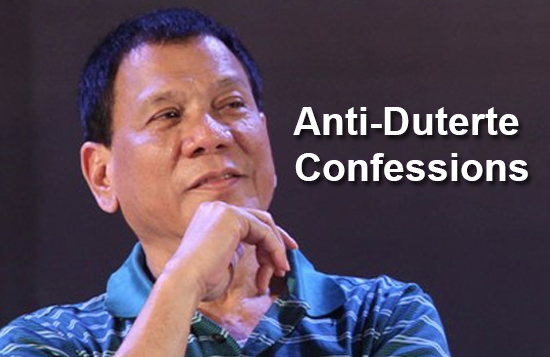 Anti-Duterte Confessions: My issues with Duterte... are Wrong