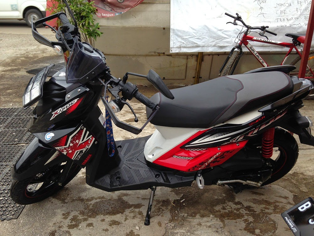 Modifikasi yamaha x ride special edition