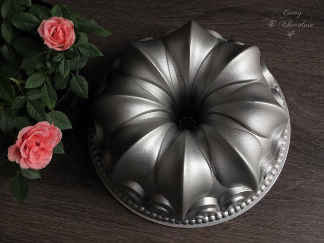 Molde Bundt Cake de Nordic Ware  Flor de Lis