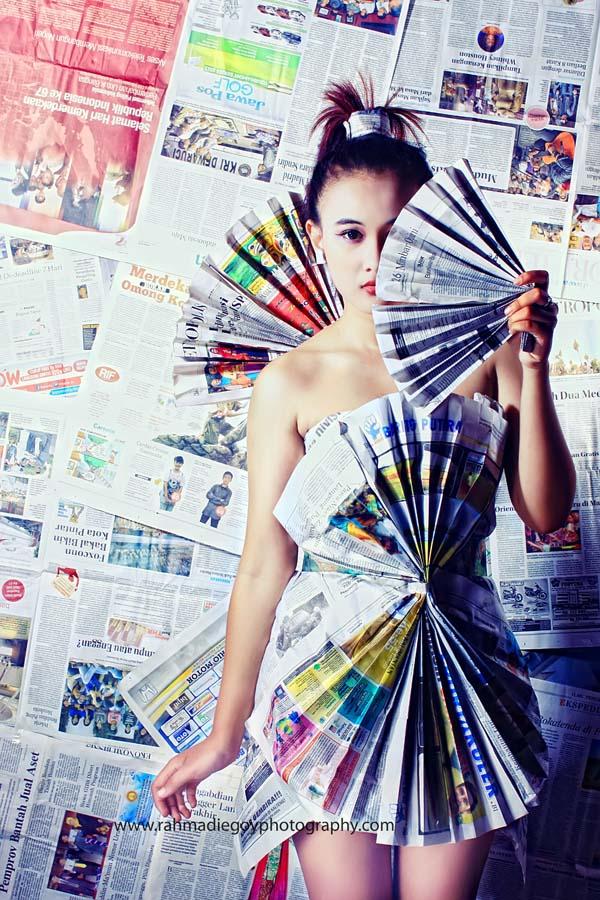 rahmadi egoy photography model concept news paper / koran  2