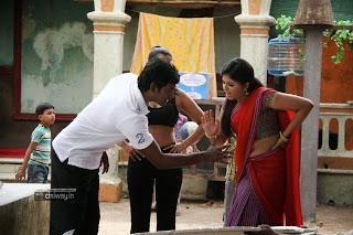 Vishal, Varalakshmi and Anjali in Madha Gaja Raja