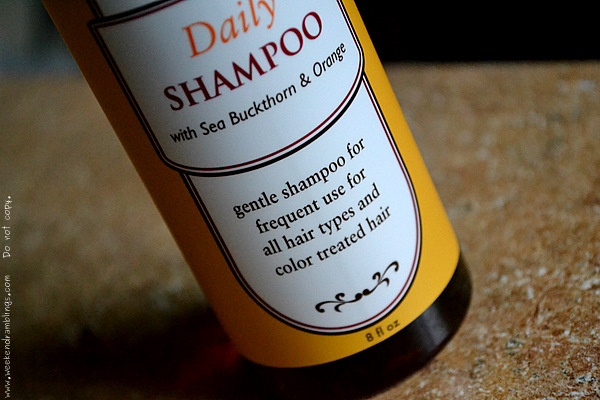 griffin remedy daily shampoo sea buckthorn orange gentle haircare reviews ingredients beauty blog natural organic products vegan gluten free