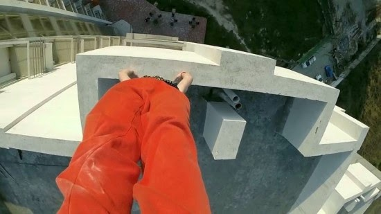 Thrill-Seeker Travels All Around the World to Perform Death-Defying Hand-Stands