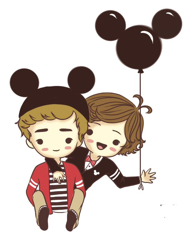 Caricaturas PNG de One Direction (Hermoshas♥)