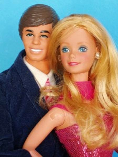 real barbie girl and ken