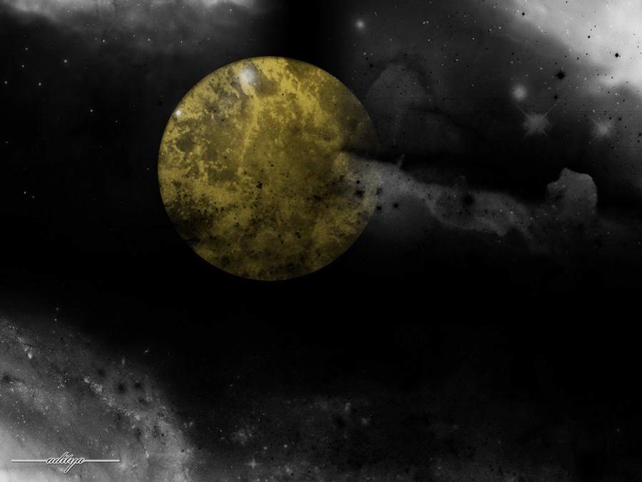 bulan hitam atau black moon 8