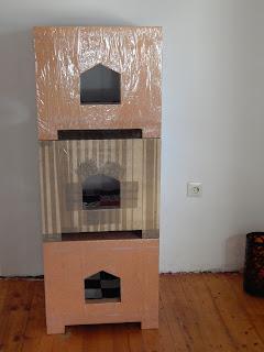 Wärmendes Katzenhaus