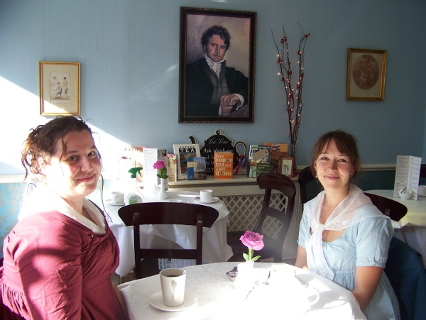 Tea With Mr Darcy Im Jane Austen Museum