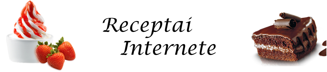 Receptai internete