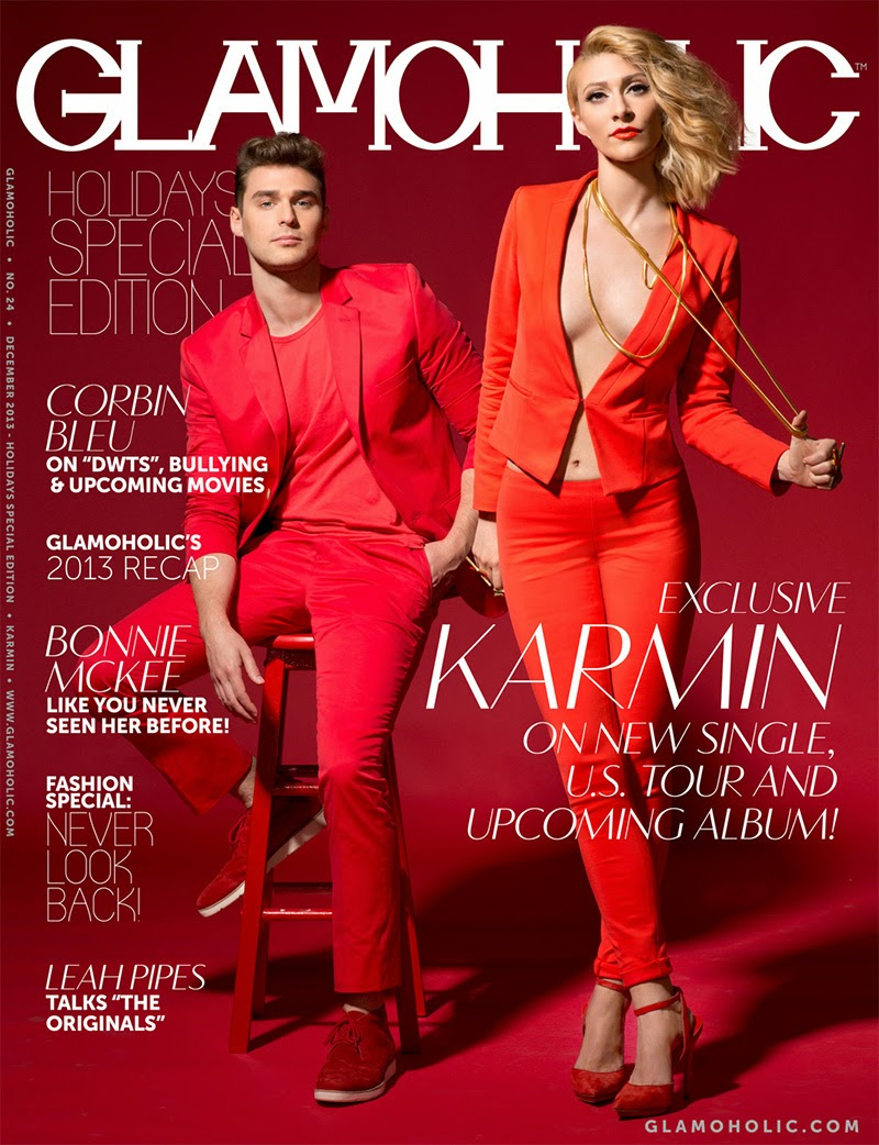 Magazine Photoshoot : Karmin Photoshoot for Glamoholic Magazine Holiday Special Edition 2013 HQ Scans