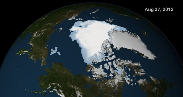 Global Cooling: Arctic Ice Caps Grows By 60% In A Year