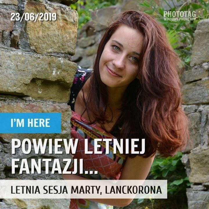 Letnia sesja Marty - Lanckorona 2019