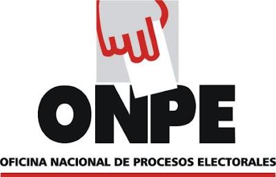 onpe oficina nacional de procesos electorales