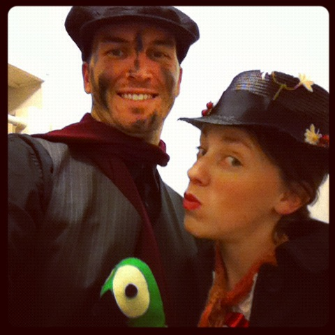 mary poppins bert costume